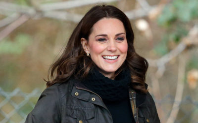 Kate reveals different hairstyle!